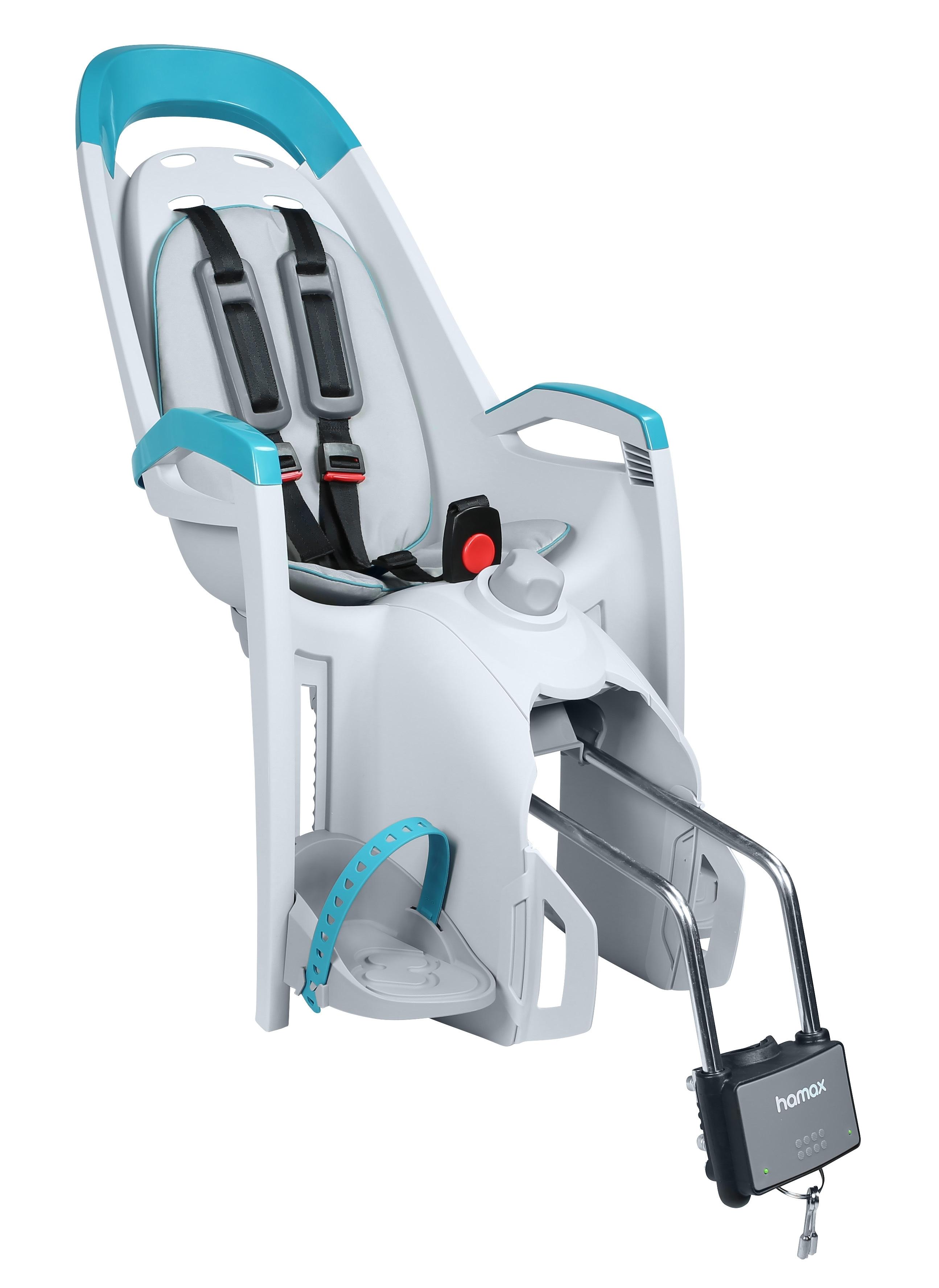 sedačka HAMAX AMAZE zadní šedá-modrý reflex/šedý