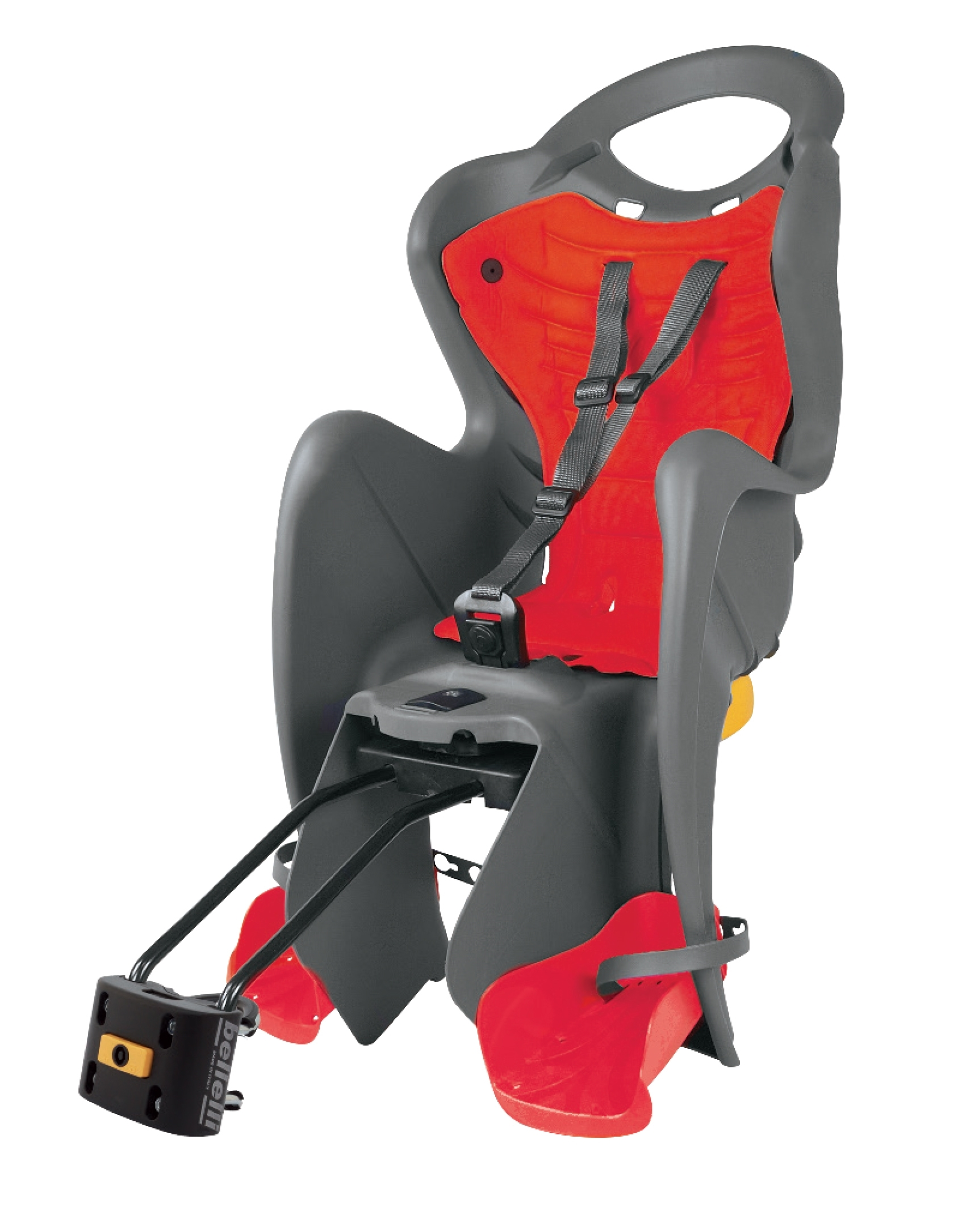 BELLELLI sedačka MR FOX STANDARD B-FIX zadní šedá/červený