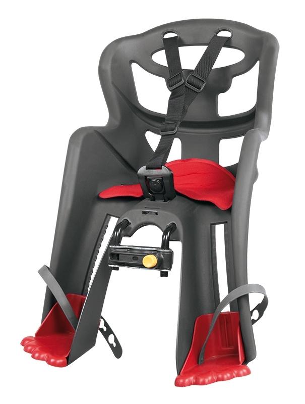 BELLELLI sedačka TATOO HANDLEFIX přední šedá/červený