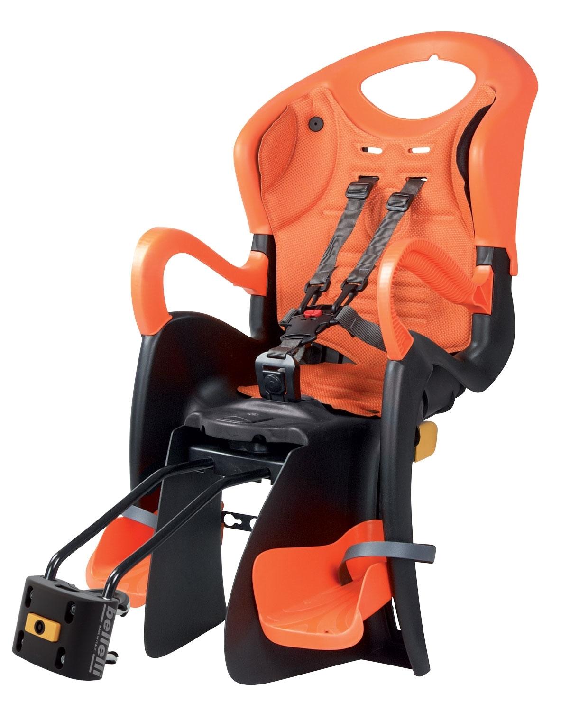 BELLELLI sedačka TIGER STAND.B-FIX zadní črn-oranž/oranžový