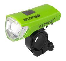 světlo přední FORCE EXTRA USB 1 dioda, Různé barvy