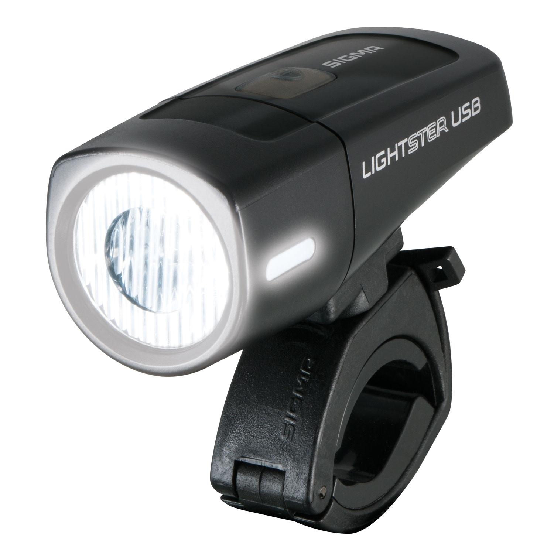 svítilna přední SIGMA LIGHTSTER USB 25 LUX