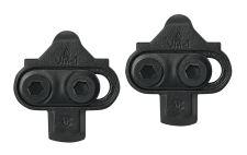 zarážky-kufry MTB FORCE FPC nášlapný systém, černé