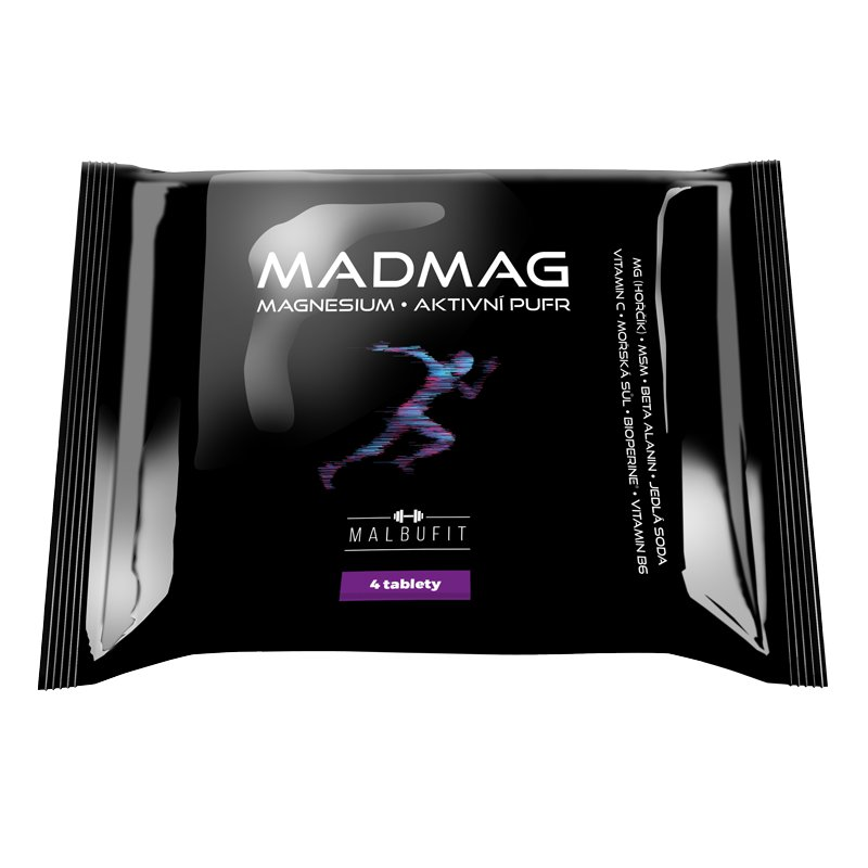 Žvýkací tablety Malbucare MADMAG 4 tablety